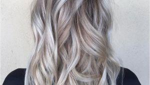 Hairstyles Bleach Blonde Hair Od Dark Hair with Silver Platinum Highlights