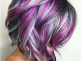 Hairstyles Blonde and Purple Beauty Hairstyle Gallery Bouffant Hair Bob