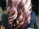 Hairstyles Blonde and Purple This is Awesome Blonde with Purple Lowlights by Selma