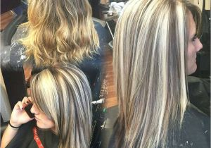Hairstyles Blonde with Dark Underneath Heavy Blonde Highlight with A Dark Brown Lowlight and Underneath