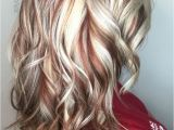 Hairstyles Blonde with Red Underneath Pin by Sheri Nolen On Hair Color Idea