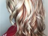 Hairstyles Blonde with Red Underneath Terrifictresses Loves to Display Radiant Hair Color as Seen In