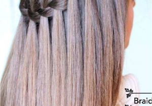 Hairstyles Braids Easy Tutorial Learn How to Do A Waterfall Braid Hair Style