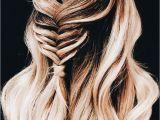 Hairstyles Braids Tumblr Step by Step Effortless Long Hair Styles Half Up Braid Hair