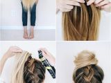Hairstyles Braids with Hair Down Tutorials Follow This Tutorial for An Easy Upside Down Braid Ad
