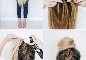 Hairstyles Braids with Hair Down Tutorials Follow This Tutorial for An Easy Upside Down Braid Ad