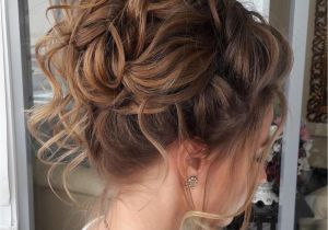 Hairstyles Buns Curly Hair 40 Creative Updos for Curly Hair Mane & Tail Pinterest