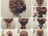 Hairstyles Buns Step by Step Hairstyle for Short Hair Step by Step Fresh Easy Hairstyles for