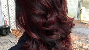 Hairstyles Burgundy Highlights 45 Shades Of Burgundy Hair Dark Burgundy Maroon Burgundy with Red