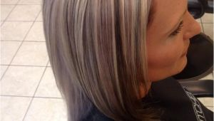 Hairstyles Chunky Highlights Chunky 3 tone Highlight and Lowlight Platinum Blonde Hair with