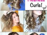 Hairstyles Curls No Heat 35 Best Overnight Curls Images