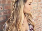 Hairstyles Down the Middle 132 Best Hairstyles Braids Images