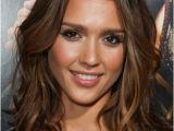 Hairstyles Down the Middle Jessica Alba Hairstyles