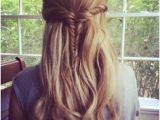 Hairstyles Down with Plaits 272 Best Half Up Half Down with Braids Images