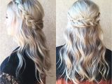 Hairstyles Down with Plaits Braided Half Up Half Down Hair We ❤ This