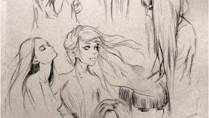 "Hairstyles Drawing Female Fantasy ""girl"" Hair I Love This so Much Wanna Draw People with"