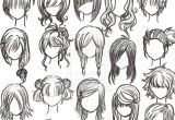 Hairstyles Drawing Step by Step Image Result for Easy to Draw Anime Girl Hair Manga