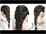 Hairstyles Easy to Do Youtube Easy Hairstyle with Braid for Long Hair Tutorial