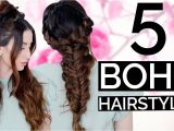 Hairstyles Every Girl Must Know 5 Spring Boho Hairstyles Every Girl Should Know