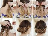 Hairstyles Fancy Buns Easy Updo Hairstyles for Prom Hair Style Pics
