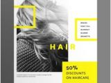 Hairstyles Flyer Design 107 Best Poster Templates Images In 2019