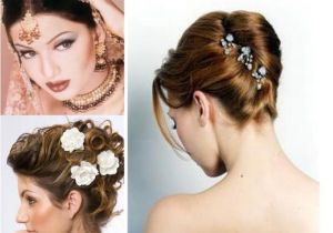 Hairstyles for A Wedding Reception Indian Wedding and Reception Hairstyle Trends 2013 India