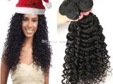 Hairstyles for Black Virgin Hair Brazilian Virgin Hair Deep Wave Human Hair Weave 4 Bundles Brazilian