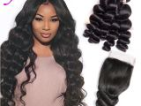 Hairstyles for Black Virgin Hair Mongolian Virgin Hair Extensions 4 Bundles with 4×4 Lace Closure