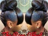 Hairstyles for Buns with Bangs Bun and Bang Hair Pinterest