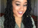 Hairstyles for Crochet Goddess Locs 2017 Faux Loc Hairstyles Black Hair Inspirations