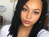 Hairstyles for Crochet Goddess Locs Change Up Your Looks with these Cute Shoulder Length Bomba Faux