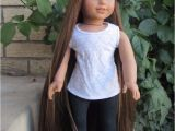 Hairstyles for Curly Hair Ag Dolls American Girl Doll Custom Just Like You 28 Hand Made Wig Long Hair