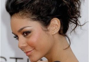 Hairstyles for Curly Hair for A Night Out Messy Upstyle Iwantthathair Easy Hair Updo Wedding Bride