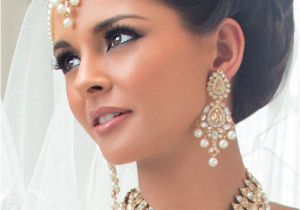Hairstyles for Curly Hair for Indian Wedding Indian Bridal Hairstyle Dulhan Latest Hairstyles for Wedding