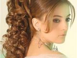 Hairstyles for Curly Hair In Pakistan Latest Party Hairstyles for Girls