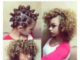 Hairstyles for Curly Hair Overnight 💗bantu Knots A Great Way to No Heat Natural Looking Curls so
