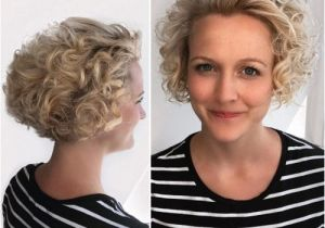 Hairstyles for Curly Hair Tied Up 42 Curly Bob Hairstyles that Rock In 2019