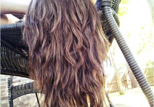 Hairstyles for Curly Hair Tied Up Straight ish Wavy Long Hair with tons Of Layers