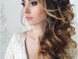 Hairstyles for Curly Hair to the Side Wedding Hairstyle Inspiration Prom Pinterest