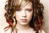 Hairstyles for Curly Hair with Bangs Medium Length Medium Length Hair with Bangs Edgy Haircuts for Curly Hair