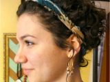 Hairstyles for Curly Hair with Headband Headband Hairstyles for Short Hair Beautiful Enchantinga Parents Od