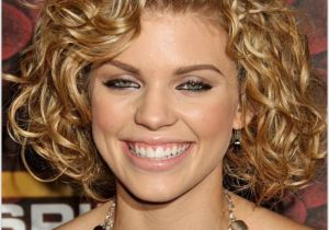 Hairstyles for Curly Hair Women Round Face Medium Curly Haircut for Round Face Allnewhairstyles