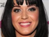 Hairstyles for Damaged Bangs Medium Bob Hairstyles Katy Perry with Bob Cut and Blunt Bangs