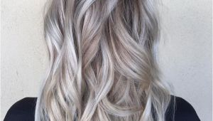 Hairstyles for Dark Hair Going Grey Od Dark Hair with Silver Platinum Highlights
