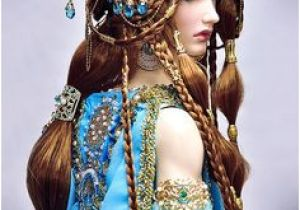 Hairstyles for Designer Dolls 23 Best Fantasy Hair Styles Images