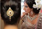 Hairstyles for Girls for Indian Weddings Best Hairstyles for Indian Wedding Brides