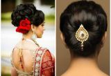 Hairstyles for Girls for Indian Weddings Various Indian Hairstyle Of Medium Length for Weddings