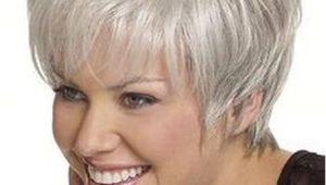 Hairstyles for Grey Hair Round Face Short Hair for Women Over 60 with Glasses