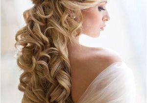 Hairstyles for Hair Down to Shoulders Bridal Look Wedding Hairstyle and Make Up by Elstile