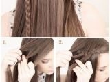 Hairstyles for Long Hair Braids Steps Fashionable Hairstyle Tutorials for Long Thick Hair
